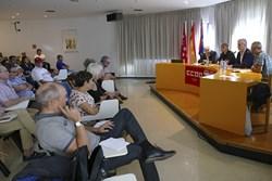 Jornada CCOO Unión General de Trabajadores por las pensiones 1