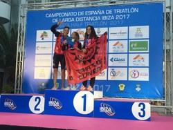 ganadoras Torneo de España triatlón