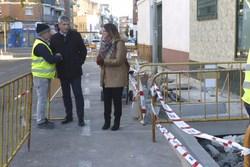 Visita obras calle Zaragoza 1