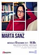 Encuentro escritora MARTA SANZ