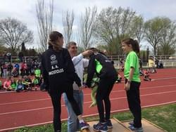 Entrega medallas Atletismo 1