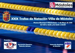 XXIX Trofeo Villa de Móstoles de Natación