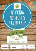 IV MERCADO MOSTOLES SALUDABLE cartel