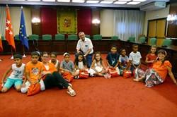 Bienvenida niños y niñas Asociación Móstoles con el pueblo Saharaui 1