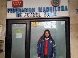 portera del Fútbol Sala Femenino Móstoles