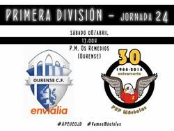 FSF Móstoles vs Ourense