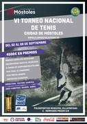 VI Torneo Nacional de tenis Ciudad de Móstoles