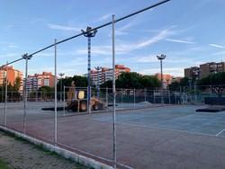 reparación de ocho pistas de tenis