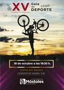 Cartel XV Gala del Deporte de Móstoles