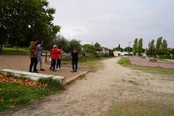 visita con vecina calle Moraleja de Enmedio 1