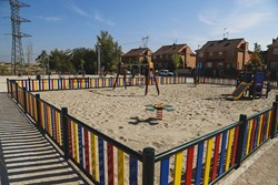 Inauguracion parque infantil biosaludable 1