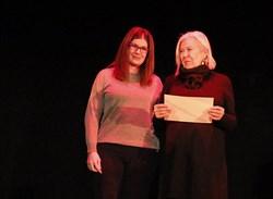 En asusencia del ganador recogió el premio Técnica de Cultura