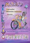 Cartel de I Jornadas Móstoles Inclusivo