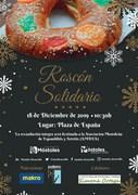 Cartel Roscón Solidario