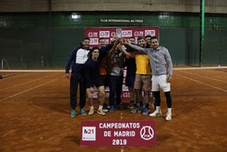 Club Móstoles Tenis se proclama campeón de Madrid 1