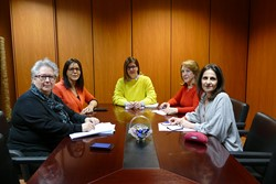 Reunión concejalia de Derechos Sociales