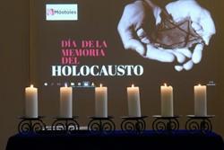homenaje a las víctimas del Holocausto 1