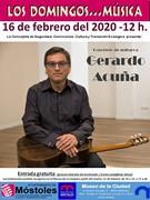 Cartel Gerardo Acuña
