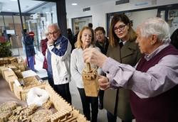 visita exposición Galisteo y otras creaciones en corcho 1