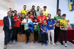 entrega de premios VIII open de Futbol chapas 1