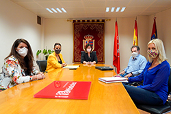 Reunión con Móstoles Desarrollo p