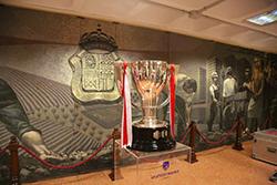 La copa de la Liga del Club Atlético de Madridp