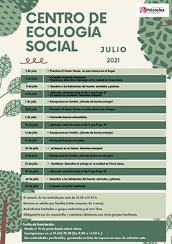 Centro de Ecología Social - Talleres de Julio