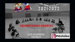 Inscripciones Club Balonmano Móstolesp